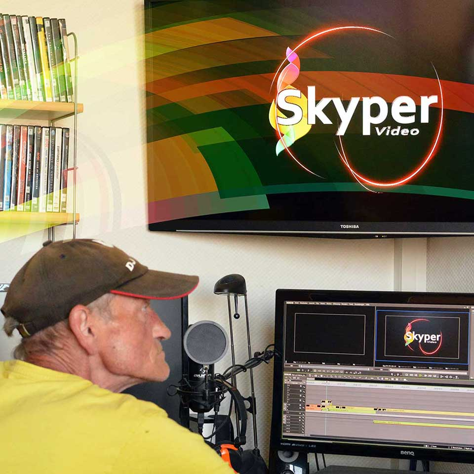 Skyper Video_Arbeitsplatz